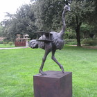 The Ostrich by Bjorn Okholm Skaarup - bronze